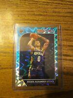 2019-20 NBA Hoops Nickeil Alexander-Walker Teal Explosion Rookie Card Pelicans