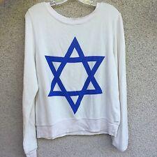 Wildfox Jewish star sweater