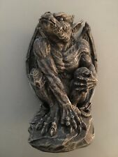 "Crouching Winged Gargoyle Statue 6.5"" Tall"