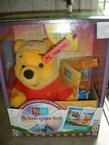 """My Interactive Winnie the Pooh Mattel 1998 in Box 14"""" Tall"""