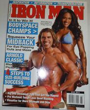 Iron Man Magazine Laura Bailey & Craig Capurso June 2012 121614R2