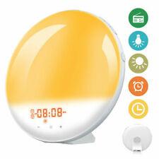 Digital Alarm Clock Wake Up Light Night Light Sunrise Simulation Touch Control