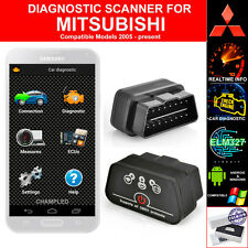 FOR MITSUBISHI OBD2 CAR AUTO DIAGNOSTIC CODE SCANNER SCAN TOOL WITH POWER SWITCH