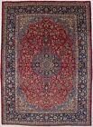Extra-Large Vintage Floral 10X14 Living Dining Room Area Rug Oriental Red Carpet