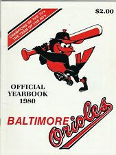 1980 Baltimore Orioles Official MLB Yearbook  jmc2