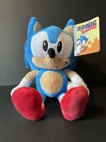 """Official SONIC THE HEDGEHOG 12"""" Sega Sonic Soft Plush Toy Teddy New with Tags"""