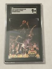 SHAQ SHAQUILLE ONEAL 1992-93 TOPPS STADIUM CLUB MEMBERS ONLY RARE #201 SGC GRADE