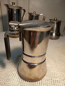 Caffettiera VESPRESS 1 Tazza VEV Viganò ACCIAIO INOX 18/10 ECOLOGICA vecchia