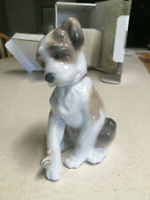 "Lladro Dog Figurines ""New Friend' Number #6211. Original in the box!"