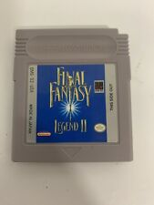 New listing Final Fantasy Legend 2 Nintendo Game Boy 1993 Cleaned and Tested Gameboy