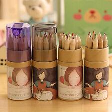 KE_ ALS_ Kids 12 Colors Artist Professional Fine Drawing Sketching Writing Pen