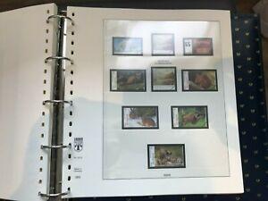 Vordruckalbum,Vordruckblätter,Bund 2004-2007 Lindner mit Taschen