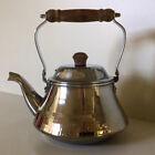 Revere Ware ~ Vintage Six Cup (48 Oz.) Tea Kettle ~ Wood Handle & Lid Knob~Korea