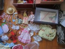 1950's Large Lot of Baby Dolls Accessories,Clothes,Shoes & a Few Dolls