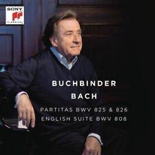 RUDOLF BUCHBINDER - BACH: PARTITAS,BWV 825 & 826 - ENGLISH SUITE,BWV  CD NEUF