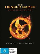 The Hunger Games...3-DISC DELUXE EDITION ... REG 4... NEW & SEALED    dvd1297