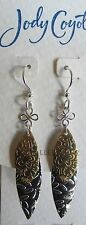 Jody Coyote Earrings JC0681 new hypoallergenic Solstice QG008 silver gold