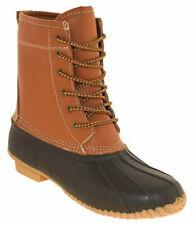 NEW Womens Khombu Lauren Duck Winter Rain Boots Tan - Choose Your Size!