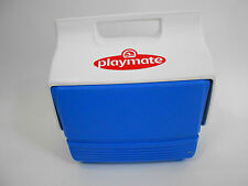 Igloo Playmate Personal Cooler Blue White Ice Chest EUC