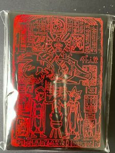 YuGiOh Prismatic God Box PGB1 70 Pcs Red Tablet of Lost Memories Sleeves SEALED
