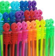 Bubble Tubes Children Kid Wand Rainbow Party Goody Bag Wedding Mini Toy Favour