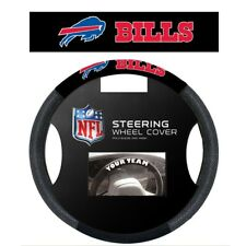 BUFFALO BILLS POLY-SUEDE AND MESH STEERING WHEEL COVER NEW FREE SHIPPING