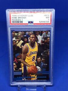 1996-97 Stadium Club Kobe Bryant Rookie RC PSA 7 Insert Lakers HOT