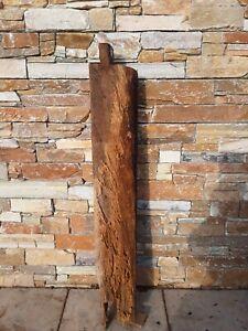 Eichenbalken , Fachwerkbalken Hitzebehandelt Holzbalken  0,97 m Nr.64   10,3kg