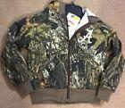 NEW Kids Mossy Oak Camouflage ALABAMA Hooded Fleece Zip Up Jacket Size 6-7.