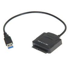 USB 3.0 To SATA 2.5/3.5'' HDD SSD Hard Drive Disk Converter Cable Power Blu-Ray