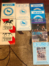 Devon Horse Show And Country Fair Programs 10 Books