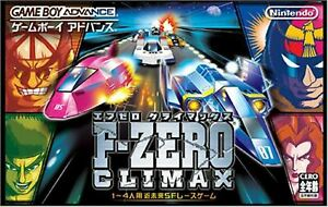 Used Nintendo F-ZERO CLIMAX GBA GAMEBOY ADVANCE Video Game from Japan