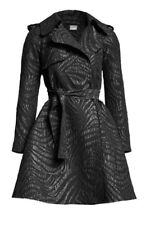 Lanvin with H&M Black Light Weight Trench Coat_Size 40r