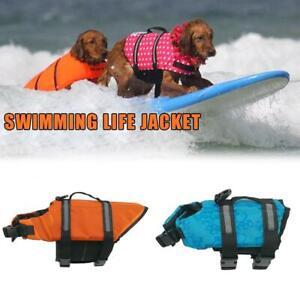 Dog Life Jacket Summer Printed Pet Life Jacket Dog Dogs Bathing  Safety
