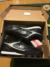 Easton Men's Redline Low Softball Cleats Shoes 7.5 Black Silver NEW