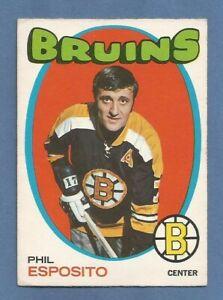 1971-72 OPC Phil Esposito Boston Bruins #20