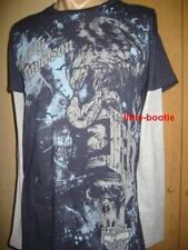Harley-Davidson Langarm Shirt T-Shirt Herren blau graue Ärmel Gr. M Eagle - SALE