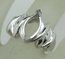 Free Shipping 925 Sterling Silver 6x12mm Marquise Shape Semi Mount Ring Jewelry