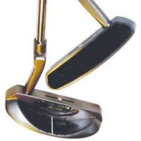 Brand New Full Balata Face Semi-Mallet Putter, R/H, High Quality