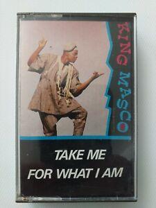 King Masco - Take Me for What I Am 1988 Audio Cassette Sierra Leone
