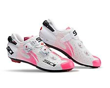 SIDI Wire Carbon Air Woman Cycling Shoes - White/Pink Fluo [Size:38~39.5 EUR]