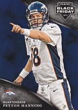 2013 Panini Black Friday Peyton Manning Broncos SP #17