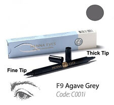 Agave gray Henna pen 100% Natural Eye Liner Pen can b also used as lip liner