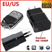 Mini HD 1080P 32GB HD SPY DVR Hidden Wall Charger Camera Adapter Plug Nanny Cam