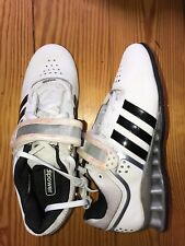 new ADIDAS Adipower Weightlift M25733 White/Black Weight Lifting Sneakers US 7.5