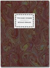 Ronald FIRBANK / Two Early Stories The Wavering Disciple and A Study in Opal