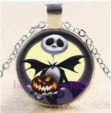 Hot Nightmare Before Christmas Photo Cabochon Glass Chain Necklace U Pick