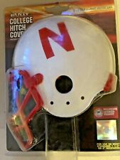 "Nebraska College Helmet Hitch Cover BULLY CR-H901 1 1/4 - 2"" Receiver Husker Tow"