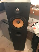 B&W DM602.5 S3 Main / Stereo Speakers with popped bass unit
