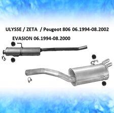 Auspuff LANCIA ZETA (220) 2.0 108 KW 147 PS 05.1995-09.2002 Auspuffanlage 0757